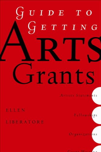 Guide to Getting Arts Grants   2006 edition cover
