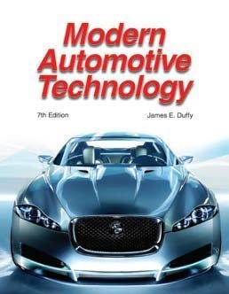Modern Automotive Technology  7th 2009 edition cover
