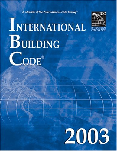 International Building Code 2003   2003 edition cover