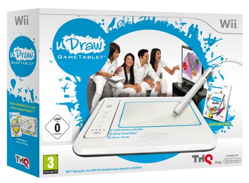 WII GAME TABLET MIT UDRAW STUDIO Nintendo Wii artwork