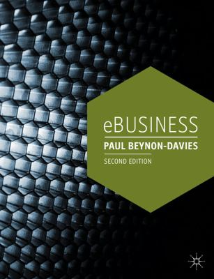 Ebusiness  2nd 2013 (Revised) 9780230304567 Front Cover
