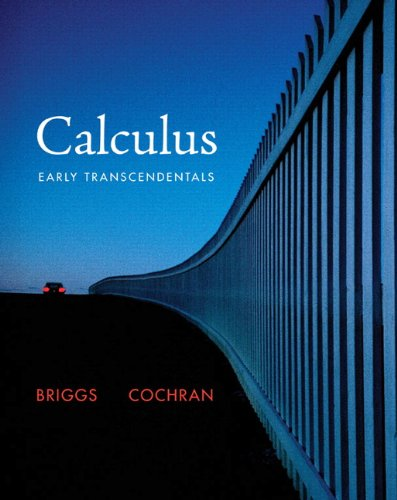 Calculus Early Transcendentals  2011 edition cover