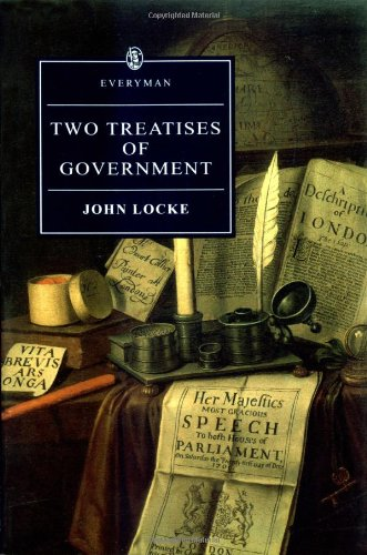 Two Treatises of Government  3rd 1994 edition cover