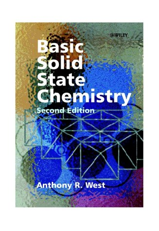 Basic Solid State Chemistry  2nd 1999 (Revised) edition cover