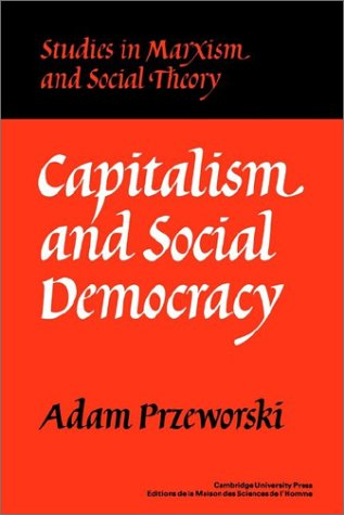Capitalism and Social Democracy   1997 edition cover