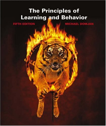 Principles of Learning and Behavior 5th 2003 (Revised) edition cover