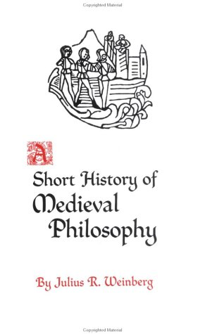 Short History of Medieval Philosophy   1968 edition cover