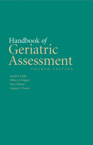 Handbook of Geriatric Assessment  4th 2006 (Revised) edition cover