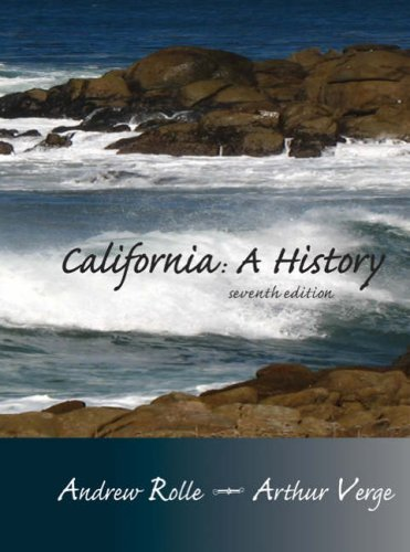 California A History 7th 2008 9780882952567 Front Cover
