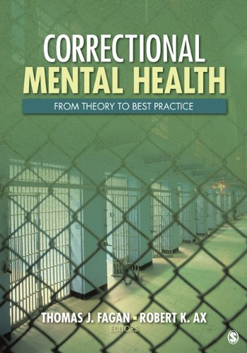 Correctional Mental Health From Theory to Best Practice  2011 edition cover