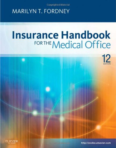Insurance Handbook for the Medical Office  12th 2011 edition cover