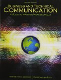 Business and Technical Communication A Guide to Writing Professionally 2nd (Revised) edition cover
