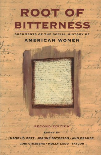 Root of Bitterness Documents of the Social History of American Women 2nd 1996 edition cover