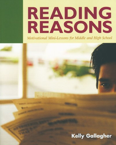 Reading Reasons Motivational Mini-Lessons for Middle and High School  2003 edition cover