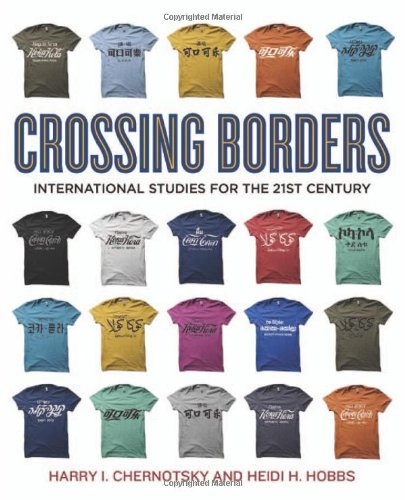 Crossing Borders International Studies for the 21st Century  2013 (Revised) edition cover