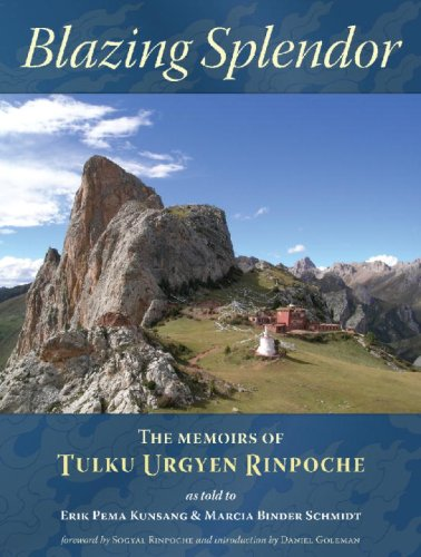 Blazing Splendor The Memoirs of Tulku Urgyen Rinpoche  2005 edition cover
