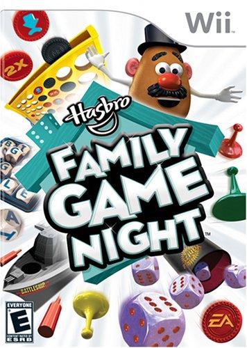 Hasbro Family Game Night - Nintendo Wii Nintendo Wii artwork