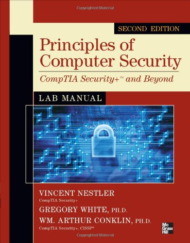 Principles of Computer Security CompTIA Security+ and Beyond Lab Manual, Second Edition  2nd 2011 edition cover