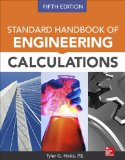 Standard Handbook of Engineering Calculations:   2014 edition cover