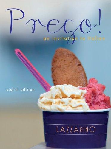 Prego! Audio Cd Program:  2011 edition cover