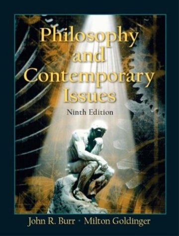 Philosophy and Contemporary Issues  9th 2004 9780131112568 Front Cover