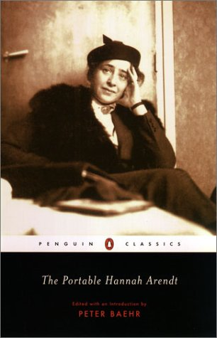 Portable Hannah Arendt   2003 edition cover