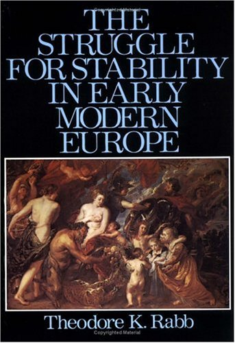 Struggle for Stability in Early Modern Europe  N/A 9780195019568 Front Cover