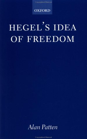 Hegel's Idea of Freedom   2002 9780199251568 Front Cover