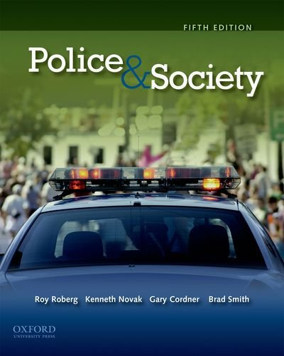 Police and Society  5th 2011 edition cover