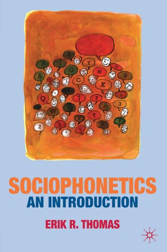 Sociophonetics An Introduction  2011 edition cover