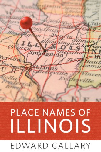 Place Names of Illinois   2009 edition cover
