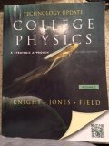 College Physics A Strategic Approach Technology Update Volume 2 (Chs. 17-30) 2nd 2012 (Revised) edition cover