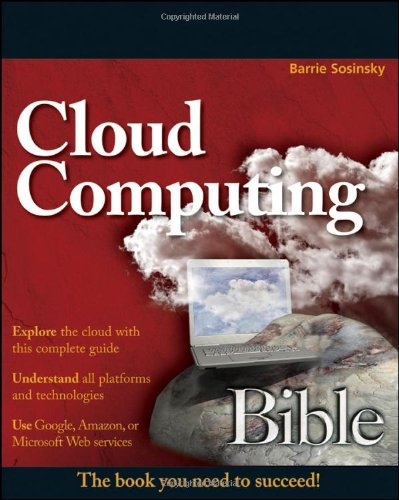 Cloud Computing Bible   2011 edition cover