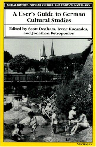 User's Guide to German Cultural Studies  N/A edition cover