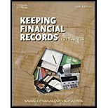 Working Papers - Chapters 10-16 Keeping Financial Records for Business 10th 2006 (Revised) 9780538441568 Front Cover