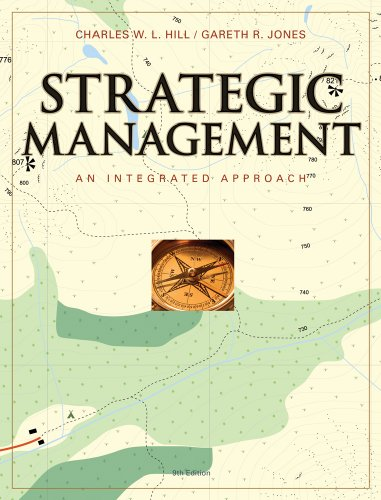 Strategic Management An Integrated Approach 9th 2010 9780538748568 Front Cover