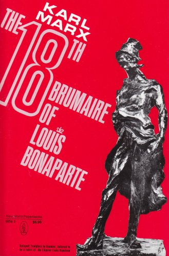 18th Brumaire of Louis Bonaparte  N/A edition cover