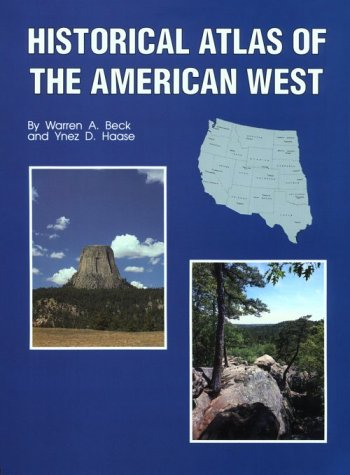 Historical Atlas of the American West   1989 edition cover