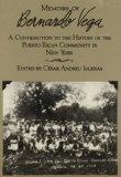 Memorias de Bernardo Vega  N/A edition cover