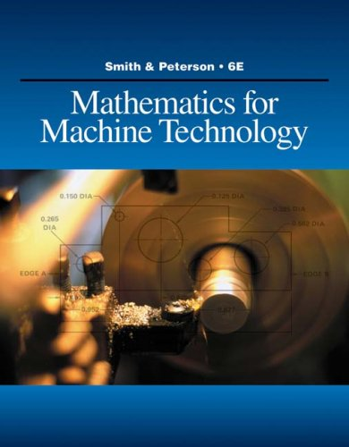 Mathematics for Machine Technology  6th 2010 edition cover