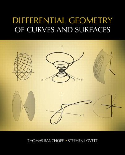 Differential Geometry of Curves and Surfaces   2010 edition cover