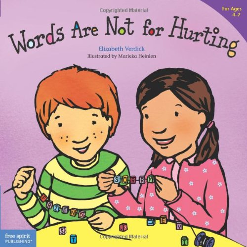 Words Are Not for Hurting   2004 edition cover