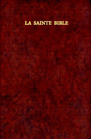 LA Sainte Bible: Segond  1989 edition cover