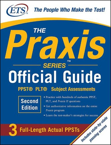 Praxis PPST�, PLT�, Subject Assesments 2nd 2010 edition cover