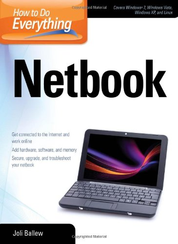 How to Do Everything Netbook   2010 9780071639569 Front Cover