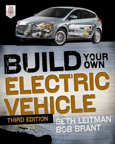 Build Your Own Electric Vehicle  3rd 2013 edition cover