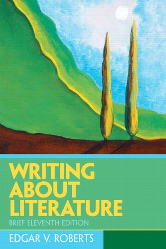 Writing about Literature  11th 2006 (Revised) edition cover