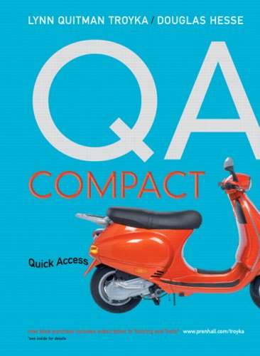 QA Compact Quick Access  2007 edition cover