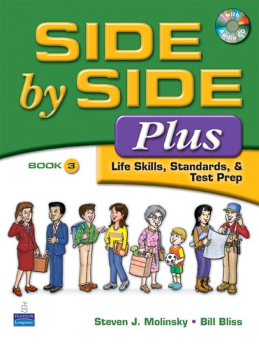 Side by Side Plus Life Skills, Standards, and Test Prep 3rd 2008 edition cover