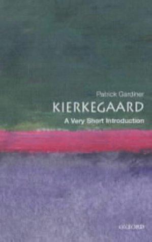 Kierkegaard   2002 edition cover